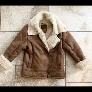 Other - Girls faux fur jacket size 9-10